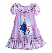 Disney Store Frozen Anna and Olaf Nightshirt for Girls   4 5/6 7/8 9/10
