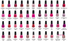 China Glaze Nail Polish - Roses & Pinks - 14ml - You Choose - Postage Combined