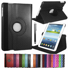 "Case/Cover Sleeve for Samsung Galaxy Tab 3 10.1"" Rotating 360 PU Leather Stand"