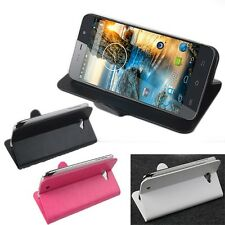 "Durable Original Flip Protective Case Cover Skin For 5"" THL W200 Smartphone LR"