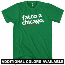 Made in Chicago T-shirt - Italian - Windy City 312 773 Chi - Men and Kids XS-4XL