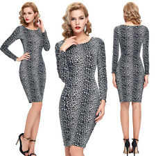 CHEAP Hot Women Formal Casual Cocktail Pageant Club Party Vintage Pencil Dresses