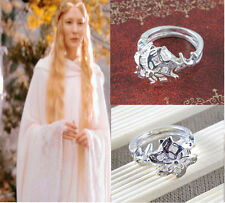 Hot Sale Lord of the Rings Nenya Galadriel Ring of water as Gift qp1483