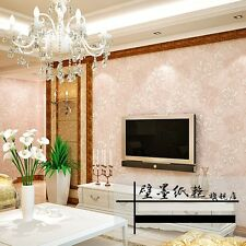 NEW!Wall Paper Victorian Roll Damask  Embossed Textured Paintable Wall sticker