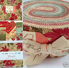 MODA WINTERLUDE by 3 sisters christmas jelly roll layer cake or charm pack