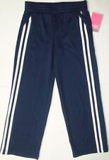 New Danskin Now Girl's active mesh running track pants athletic size small 6-6x