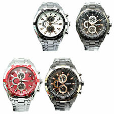 4 Color Luxury Men Curren 8023 Sport Stainless Steel Water Resistant Wrist Watch