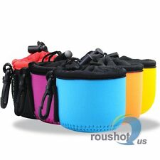 5 Color Neoprene Soft Camera Lens Protect Case Cover Pouch Bag For Sony DSC-QX10