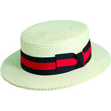 Scala Hats Straw Boater 4 Colors