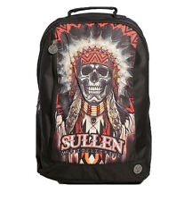 SULLEN CLOTHING STUDIO  HAYS INDIAN CHIEF NATIVE  SKULL BACKPACK TATTOO LAPTOP