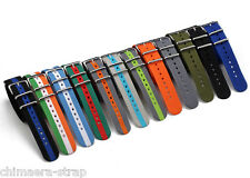 20mm Nylon Divers Strap Stripe Watch Band Military for Tudor fit ZULU Maratac