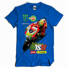Exclusive Men's T-Shirt - Valentino Rossi - Red Bike Design (SB004)