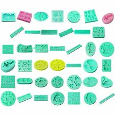 3D Clay Soap Silicone Mould Sugarcraft Fondant Cake Biscuit Cookies Decorating