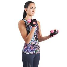 Gallant Ladies Gym Weight Lifting Gloves Training Womens Body Building Pink Gel