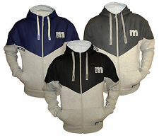 Mens Fleece Full Zip Hoodie Max Edition MSW 50 Hooded Sweatshirt Top Jacket