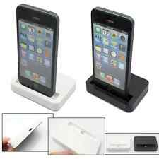 Black/White Data Sync Dock Stand Charger Station Cradle For Apple iPhone 5 5C 5S