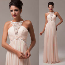 Stunning Off Shoulder Bridemaid Wedding Formal Long Evening Prom Party Dress NEW