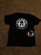 Spartan Race t-shirt, wristband and sticker