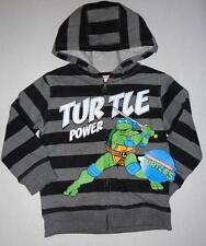 TEENAGE MUTANT NINJA TURTLES Toddler Boys 2T 3T 4T 5T Sweatshirt HOODIE Jacket