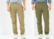 NWT GAP Men's Slim Fit Cargo Pocket Khaki Green Work Office Pants Zip Fly 28x30
