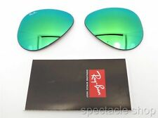 RAY BAN REPLACEMENT LENSES AVIATOR 3025 112/19 New Authentic Green Mirror