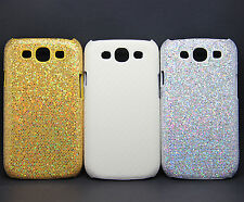 Sparkling Glitter Carbon Fiber style Cover Case for Samsung Galaxy SIII S3 i9300