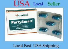 Himalaya Herbals PARTY SMART Prevents Hangover, Nausea 5 Capsules