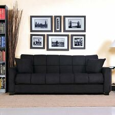 Montero Futon Sofa Bed Convert a Couch Sleeper Living Room Furniture New!