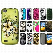 For BLU Life Play L100a Rubberized HARD Protector Case Phone Cover Accessory