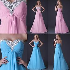 Newly 20% Sale Bridal Evening Homecoming Graduation Party Gown Wedding Hot Dress
