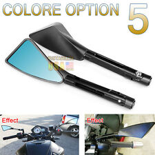 Motorcycle Universal Mirrors Rearview CNC Billet Side Mirror For Honda US Ship