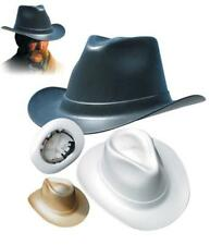 Cowboy Hardhat With Ratchet Suspension - Choose Color