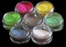 COSMETIC GRADE GLITTER 1 x 5ml Pot -Fine Professional Quality- MANY COLOURS  jv