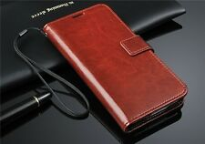 Magnetic Flip Wallet Stand Lanyard Case Cover for Samsung Galaxy S5 S 5 SM-G900