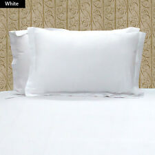 1000TC 100% EGYPTIAN COTTON SET OF 2 BEIGE PILLOW SHAMS CHOOSE SIZE AND COLOR