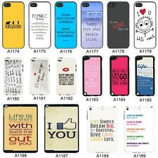 SAYINGS QUOTES COVER CASE FOR APPLE IPHONE IPOD AND IPAD - A5