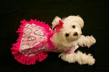 Medium-Perfum and Frill  Dress -Dog dress clothes- Puppy Apparel -TOY