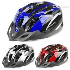 Mens Adult MTB Bike Bicycle Road Cycling 18 Holes Safety Helmet With Visor FB