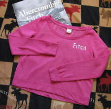 NWT Abercrombie & Fitch Bright Pink Sweatshirt - Size Small or Medium