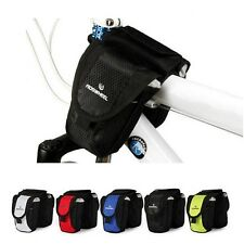 Cycling Bike Bicycle Frame Double Pack Small Front Tube Bag Phone Pouch 5-color