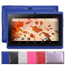 "7"" Allwinner A23 Dual Core Cameras 1.5GHz 8GB Android 4.4 WIFI Tablet PC Netbook"