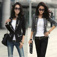 2015 New Women's Sexy Celebrity Style Slim Fit AZ KZ FZ Blazer Jacket Collection