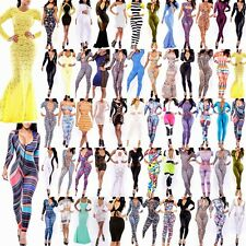 Mixed Styles Sexy Slim Fit Women Bodycon Jumpsuit&Rompers Dresses Nightclubs SML