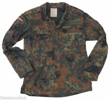 German army BW flecktarn shirt, genuine military issued combat Bundeswehr shirt
