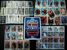 Topps FORCE ATTAX Star Wars MOVIE EDITION Serie 1 Collection Film Trading Card