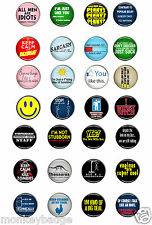 25mm, 58mm cool  naughty funny,big bang theory, geek, sexy  badges SELECTION 5