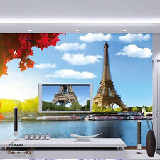 Large Eiffel Tower Wall Paper Wall Print Decal Wall Deco Indoor wall Mural Home