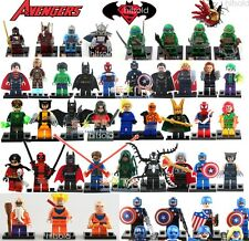 NEW lot Set Minifigures Marvel Avengers Super Heroes Series Blocks Building Toy