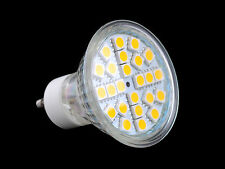 GU10 1W/5W SMD3528 5050 LED Daylight/Warm White Spotlight Down Lamp AC65-265V