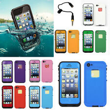 New Waterproof Pc Shockproof Dirt Dust Proof Case Cover For iPhone 4 4S 5 5S